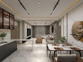 140平米四室四厅现代简约风格客厅欣赏图