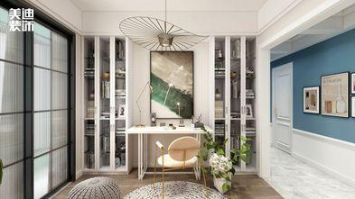 130平米四室两厅法式风格书房欣赏图