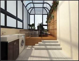 豪华型140平米别墅中式风格阳光房效果图