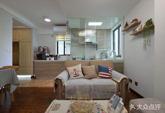5-10万70平米美式风格客厅装修效果图