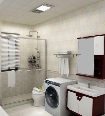 富裕型90平米三室两厅中式风格卫生间装修效果图
