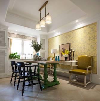 富裕型140平米四室四厅美式风格餐厅欣赏图