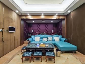 20万以上140平米别墅欧式风格影音室装修图片大全