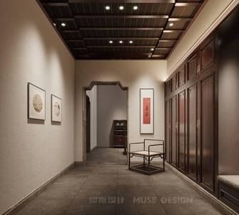豪华型140平米别墅中式风格玄关设计图