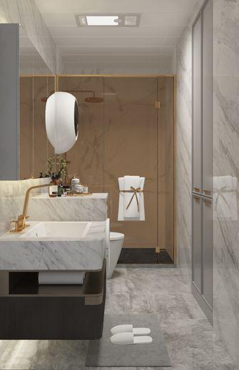 富裕型110平米三室两厅法式风格卫生间效果图