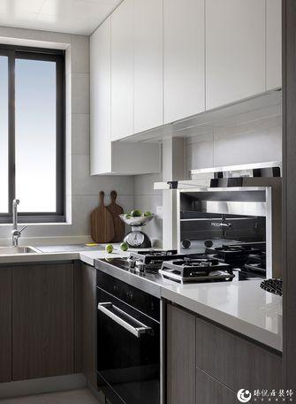 经济型70平米一室一厅现代简约风格厨房装修效果图
