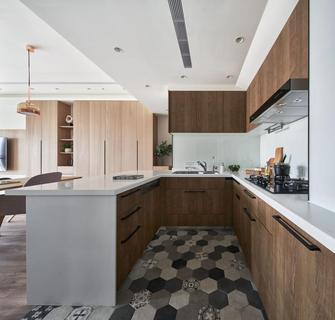 20万以上140平米三室两厅欧式风格厨房欣赏图