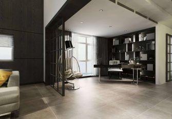 豪华型140平米别墅现代简约风格书房设计图