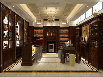 豪华型140平米别墅欧式风格储藏室装修案例