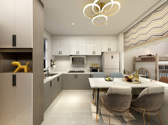 5-10万50平米小户型北欧风格厨房图