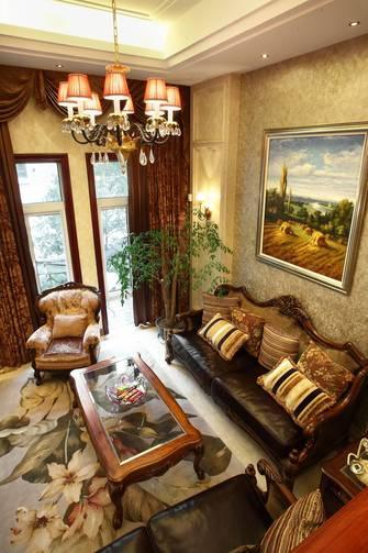 10-15万140平米四室一厅欧式风格客厅装修图片大全