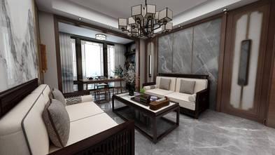 豪华型90平米三室两厅混搭风格客厅效果图