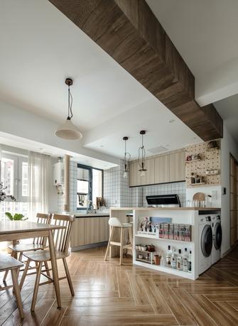 100平米三北欧风格厨房图