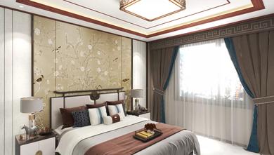 豪华型130平米四室一厅中式风格卧室设计图