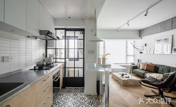 15-20万80平米三现代简约风格厨房装修案例