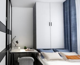 5-10万120平米三室两厅北欧风格青少年房图