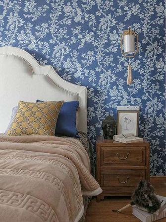 100平米三室三厅混搭风格卧室装修效果图