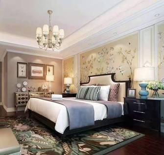 经济型80平米公寓现代简约风格卧室设计图