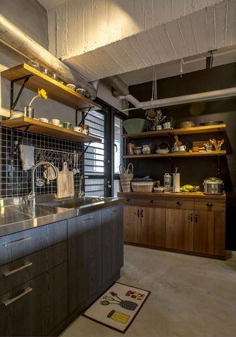 15-20万140平米三室一厅工业风风格厨房效果图