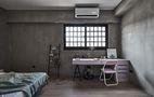 豪华型140平米四室一厅工业风风格卧室图