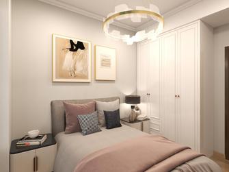 富裕型110平米三室两厅欧式风格卧室装修图片大全