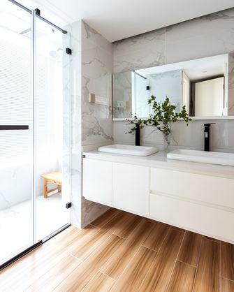 富裕型110平米公寓公装风格卫生间图