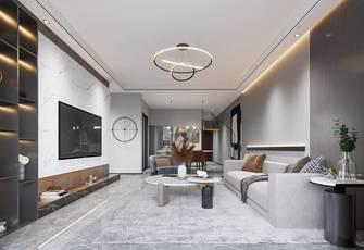 110平米四现代简约风格客厅效果图