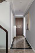 豪华型140平米复式美式风格走廊图片