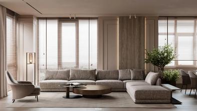 140平米田园风格客厅设计图