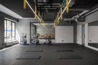 20万以上140平米现代简约风格健身房效果图