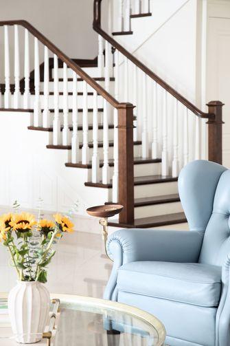 20万以上140平米复式美式风格楼梯间效果图
