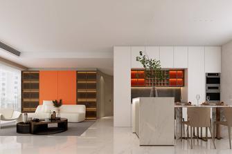 豪华型140平米三室两厅英伦风格餐厅图片大全