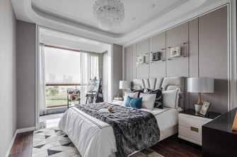 豪华型90平米美式风格卧室装修效果图