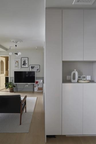 豪华型60平米一室一厅混搭风格玄关图