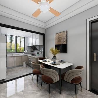富裕型80平米三室一厅混搭风格餐厅装修案例
