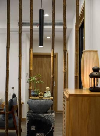 140平米四室两厅新古典风格玄关图片