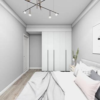 5-10万50平米公寓现代简约风格卧室欣赏图
