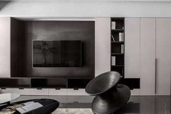 20万以上110平米三室两厅现代简约风格客厅图
