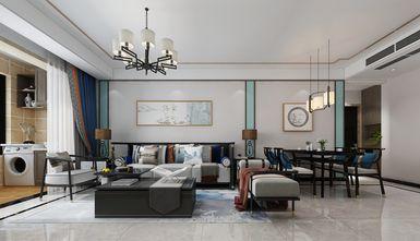 10-15万110平米三室两厅新古典风格餐厅装修案例