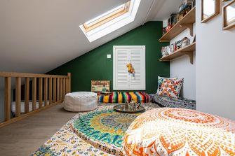 经济型50平米公寓田园风格阁楼图片