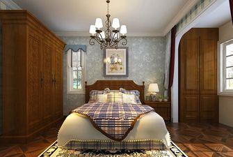 70平米英伦风格卧室图片大全