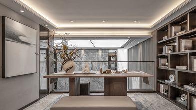 豪华型140平米现代简约风格书房图
