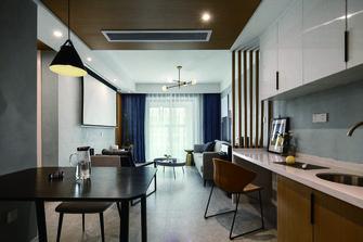 10-15万100平米三室两厅现代简约风格餐厅图片大全