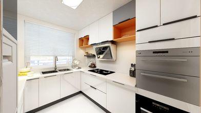 富裕型50平米一室一厅美式风格厨房装修案例
