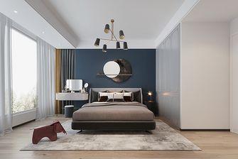 富裕型70平米三室两厅法式风格卧室装修案例