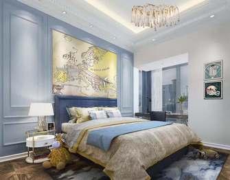 100平米三室一厅法式风格卧室图片大全