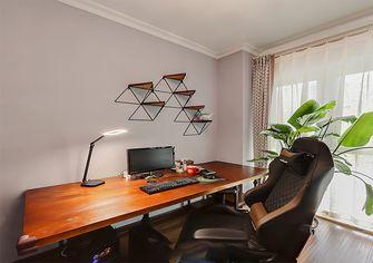 富裕型130平米三室两厅欧式风格书房装修图片大全