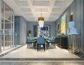 20万以上140平米别墅混搭风格餐厅图