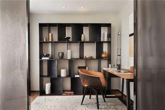110平米四室两厅现代简约风格书房图片