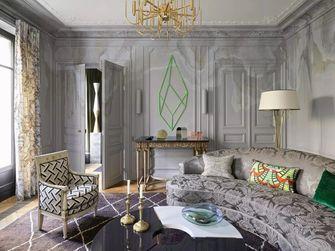 5-10万90平米法式风格客厅装修图片大全